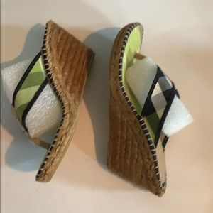 Burberry Shoes - BURBERRY SANDALS SIZE 38